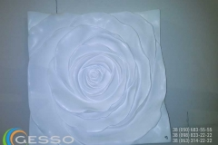 3d панель - роза