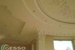 гипсовая лепнина на потолке фото 10
