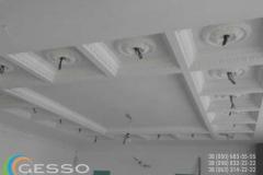 гипсовая лепнина на потолке фото 11