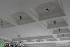 гипсовая лепнина на потолке фото 12