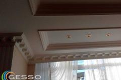 декор потолка лепниной фото 21