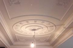 гипсовая лепнина на потолке фото 3