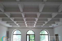 гипсовая лепнина на потолке фото 8