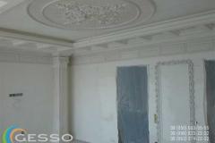 гипсовая лепнина на потолке фото 9