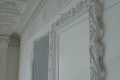 лепка из гипса на стене фото 6