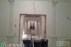 гипсовые колонны в интерьере фото 1