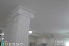 гипсовые колонны в интерьере фото 7