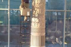 колонна из гипса фото 16