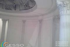 колонны из гипса фото в интерьере 10