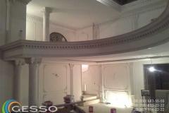 колонны из гипса фото в интерьере 11