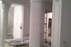 колонны из гипса фото в интерьере 15