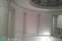 колонны из гипса фото в интерьере 9