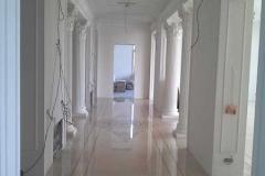 гипсовая лепнина в коридоре фото