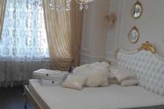 лепнина в интерьере спальни фото 16
