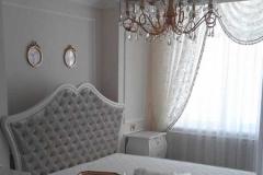 лепнина в интерьере спальни фото 18