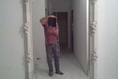 зеркало из гипса фото 9